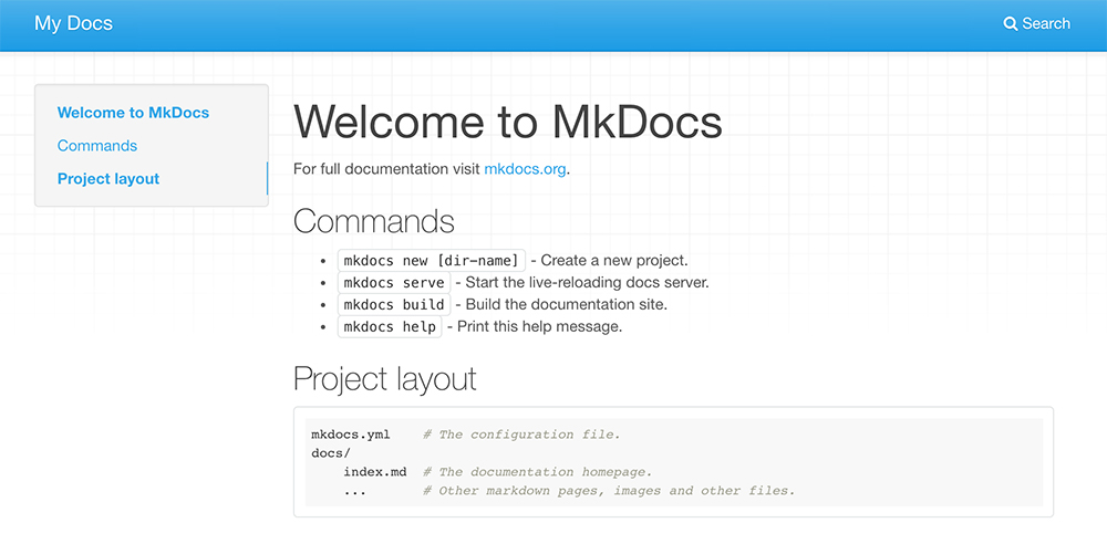 week01_principles_practices_project_management/mkdocs/first-run.jpg