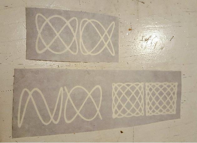 stencils ready