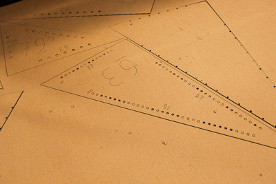 outline cutting on the laser