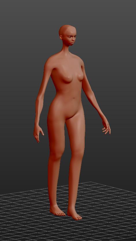 Makehuman model