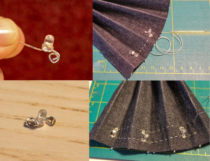 sewing leds