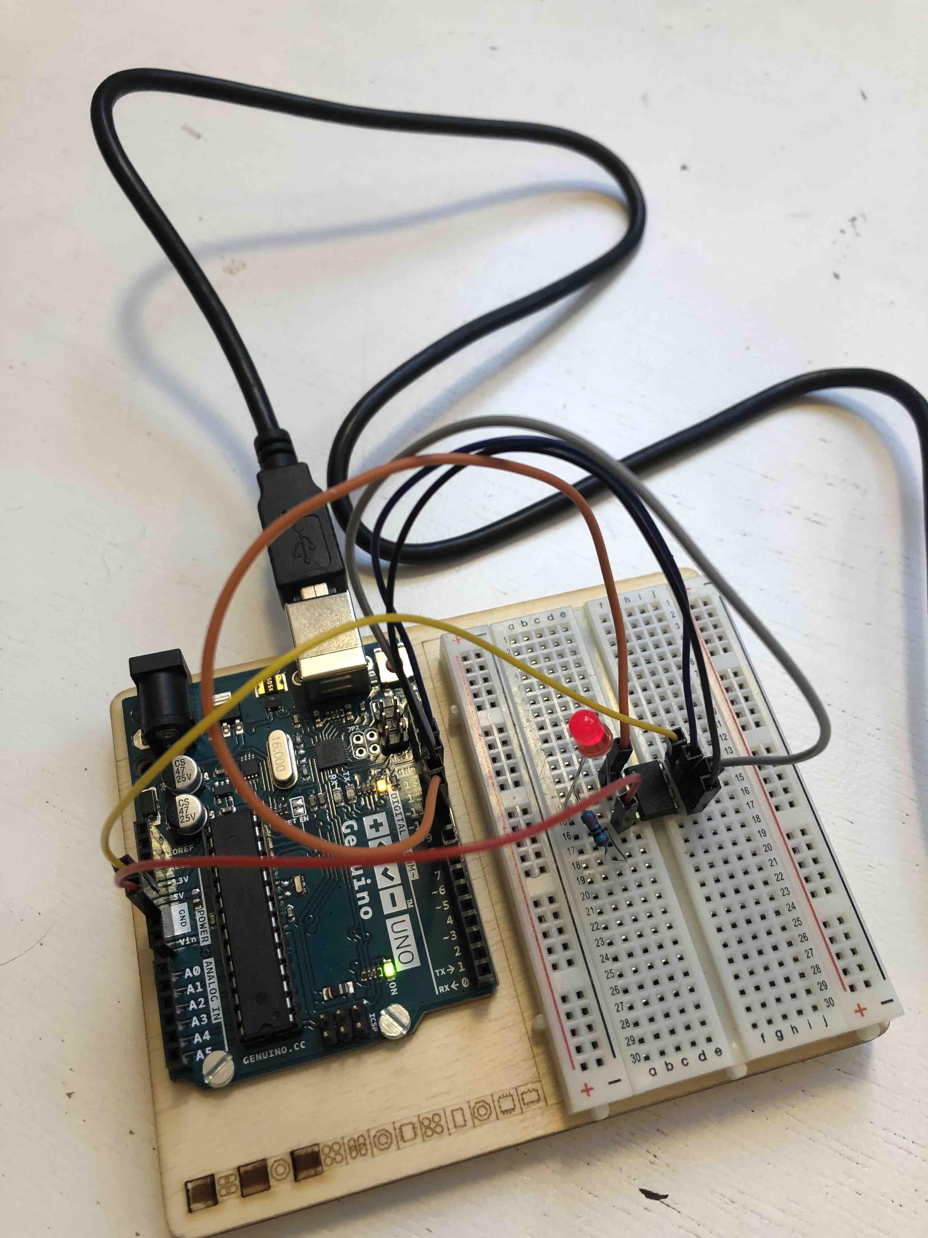 arduino-ATtiny-LED