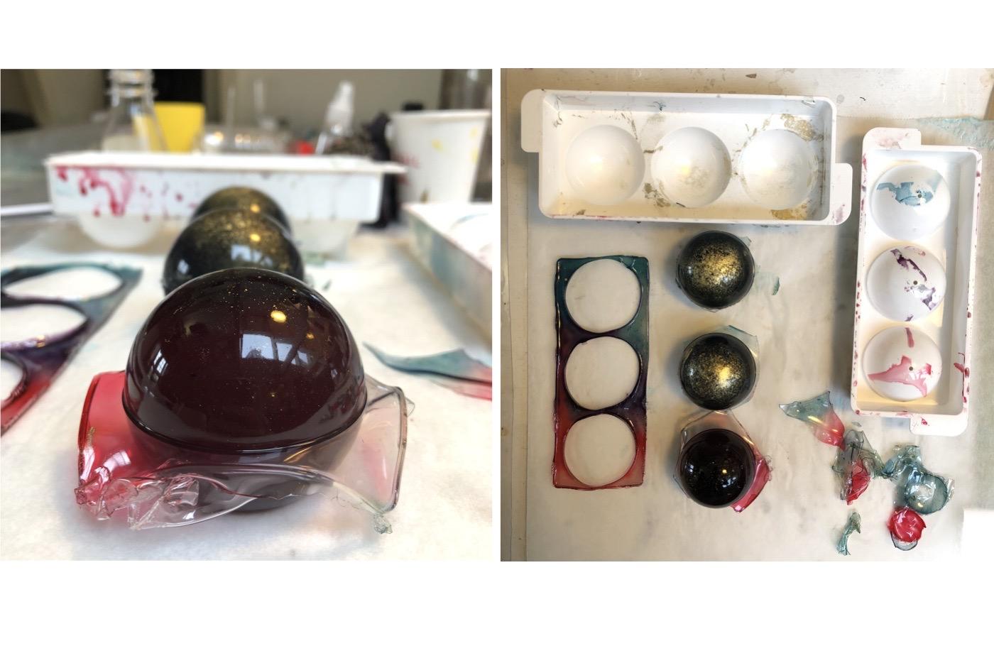 gelatine-biosilicone-balls