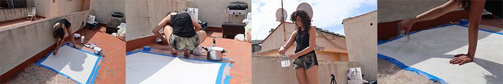 Making alginate Big sheet gabriela Lotaif1