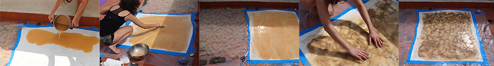 Making alginate Big sheet gabriela Lotaif2