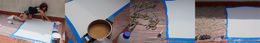 Making alginate Big sheet gabriela Lotaif0