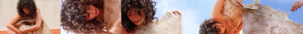 alginate big sheet dry dance Gabriela Lotaif