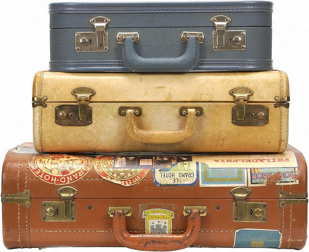 vintage maletas